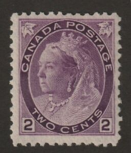 Canada-1898-76-Queen-Victoria-034-Numeral-034-Issue-F-MH