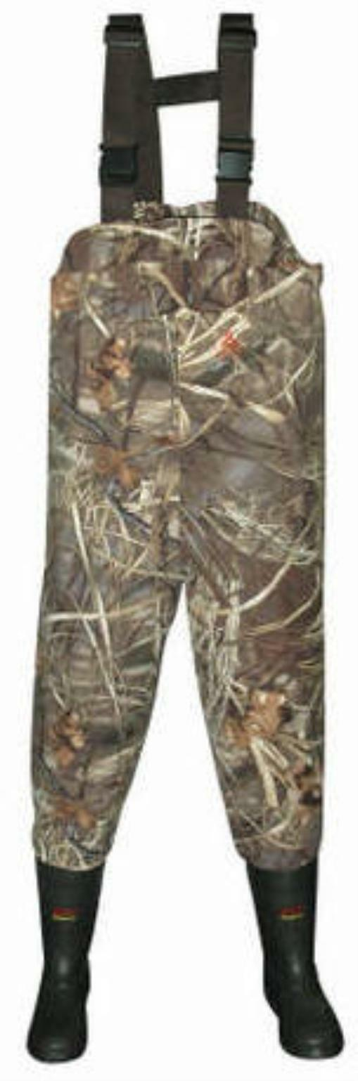 Proline 42301MX4-8 Camo Breathable Bootfoot Chest Wader Size 8 16054
