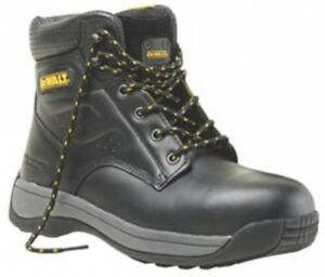 b1fbeaf70a3 Details about DeWalt Bolster Safety Boots Black Size 7