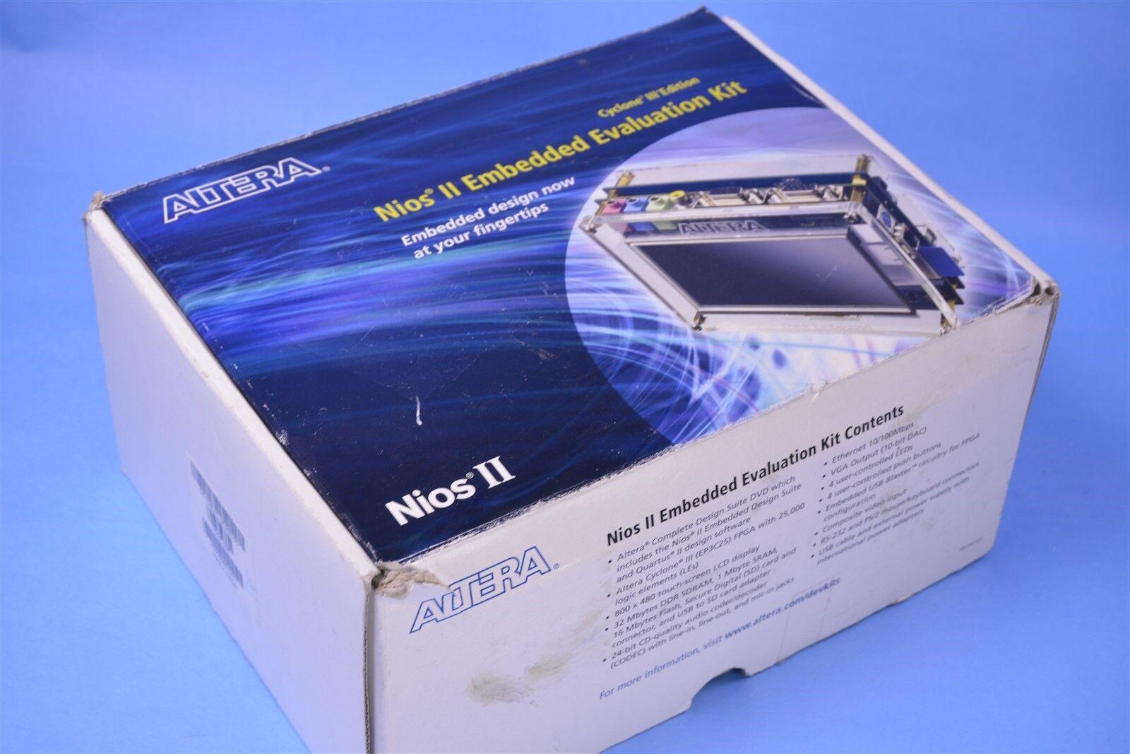 Altera Nios II Embedded Evaluation Kit