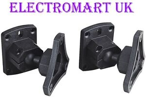 Universal Speaker Loudspeaker Wall Mount Brackets Home