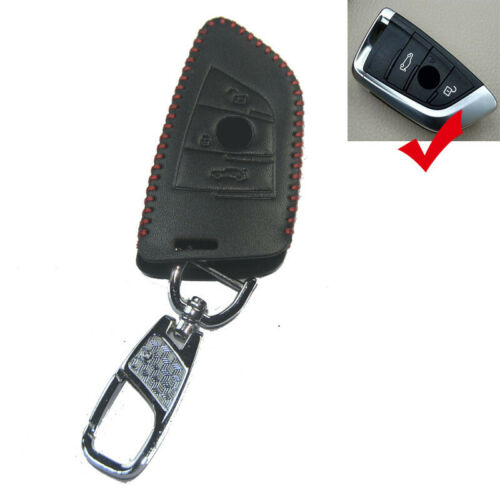 Leather Car Key Cover Case For for bmw X5 X6 new remote control protector case