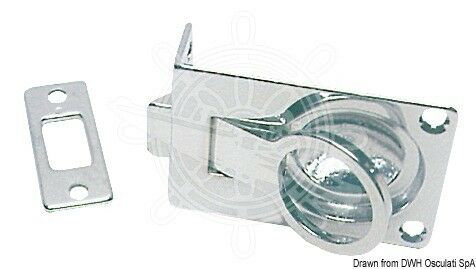 Osculati verchromter Messing Heck Handgriff Handlauf Halter Halterung Griff Boot