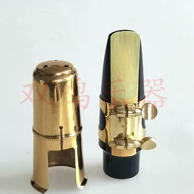 Excellence Alto Eb sax mouthpiece and  ligature and metal cap