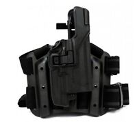 Blackhawk Tactical Serpa Auto-lock Right Hand Holster For Glock - 430700bk-r on sale