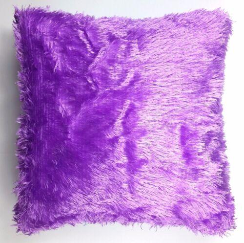 Jogue em Casa Decoração Pele Fluffy Pelúcia Macio Travesseiro Sofá Capa De Almofada