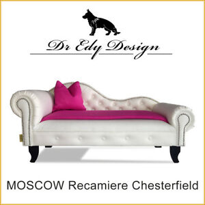 Canapé Pour Chien Chesterfield Recamiere Moscow Xxl Lit Chaiselongues Avec