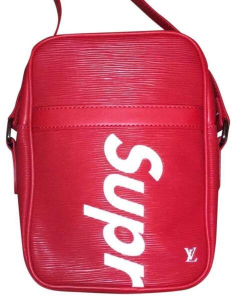 cf94d6b73da7 Louis Vuitton x Supreme Danube PM Epi Leather Red for sale online