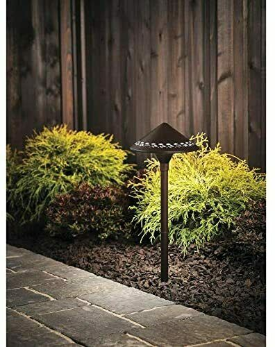 Kichler 3w Hardwired Led Path Light, Outdoor Path Lights Hardwired