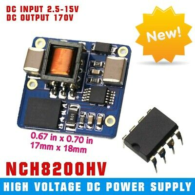 NCH8200HV High Voltage DC Power Supply for Nixie Tubes 2.5-15v Input Small size
