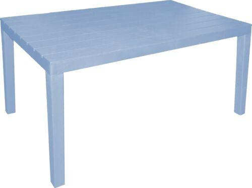 Grand Plastique Table de Jardin Extérieur Fête Stand De Marché méchantes Buffet Patio Table