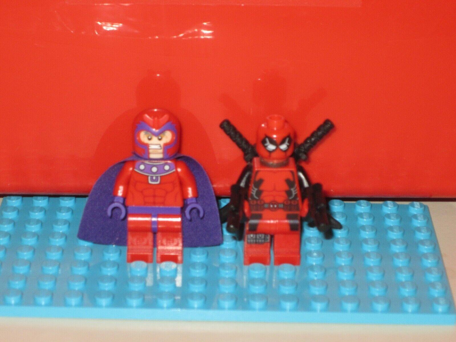 Official LEGO Deadpool & Magneto Minifigures