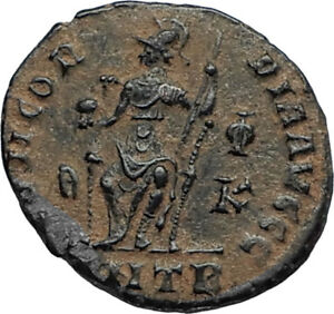 VALENTINIAN-II-378AD-Antioch-Authentic-Ancient-Roman-Coin-Rome-as-Roma-i67290