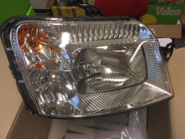 FIAT PANDA - 9/09-2012 - FARO DERECHO YODO H4 + CLGT - FIAT 51867675 NUEVO