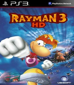 RAYMAN-3-HD-PlayStation-3-digitale-PS3-pieno-gioco-bambini-Retro-PEGI-3