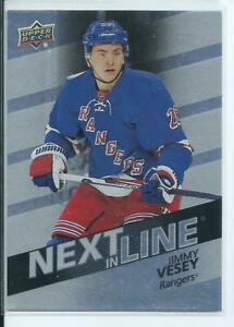 16-17-UD-Overtime-Next-in-Line-Rookie-Jimey-Vesey-NL4-Free-Combined-Shipping