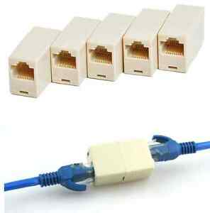 image is loading cat5 rj45 lan network ethernet cable extender joiner