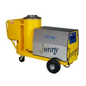 Steam Jenny Oil Fired Steam Cleaner 120 Gph Sj 120 Oep