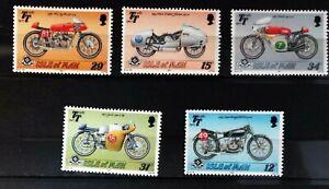 Isle-of-Man-1987-80th-Anniversaire-Moto-Courses-SG348-52-NEUF-MNH-88M125
