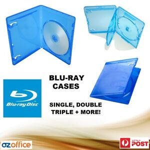 Quality-Blu-Ray-Cases-Covers-BD-R-PS3-4K-HD-Cases-Single-Double-Triple-Box-Sets
