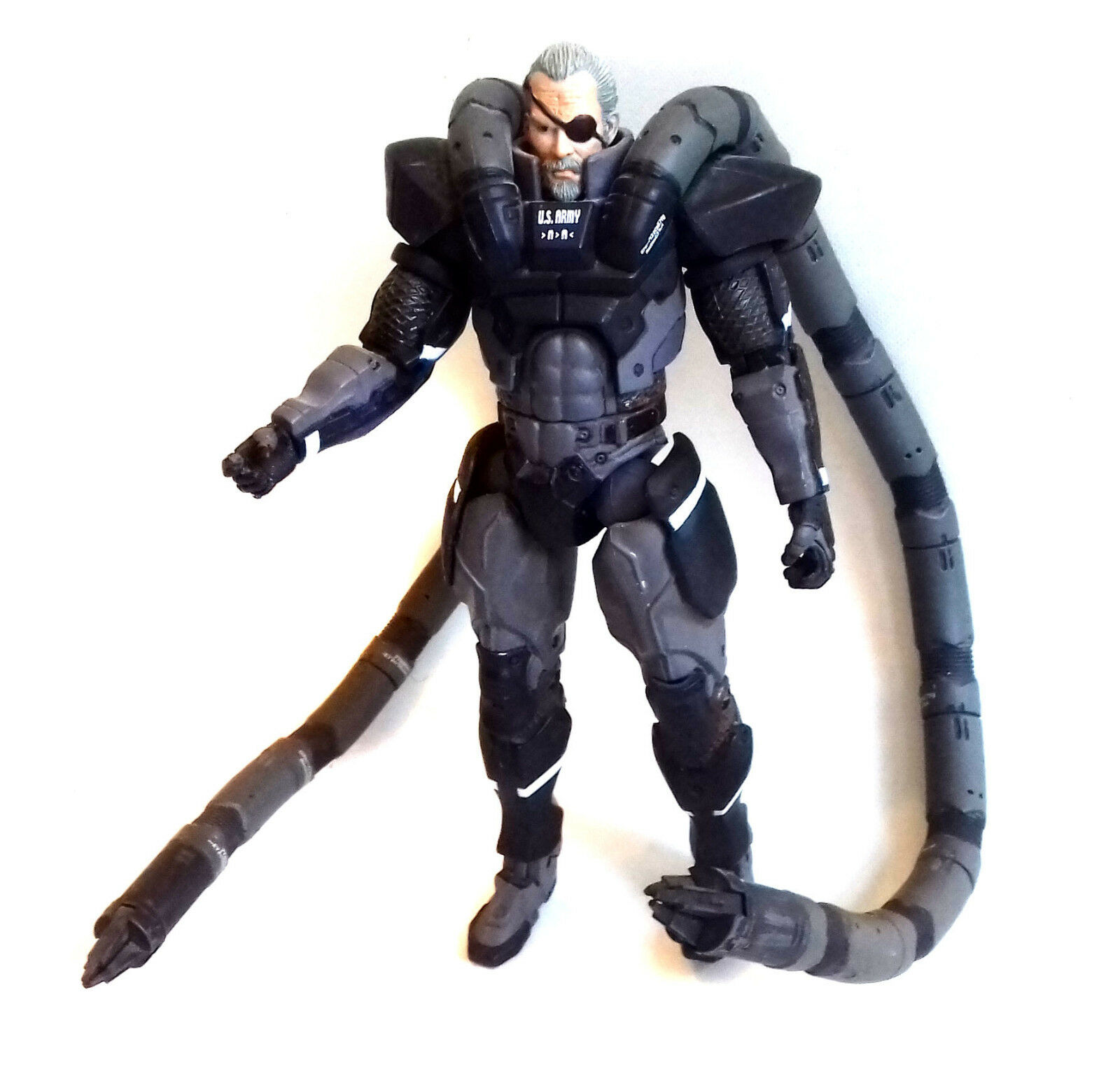 Mcfarlane Toys Metal Gear Solid 2 SOLIDUS SNAKE 6  Video game Anime figure RARE