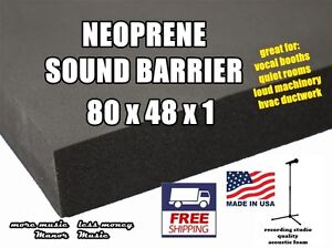 Ultimate-SOUND-BARRIER-1-034-closed-cell-neoprene-acoustic-foam-weather-resistant