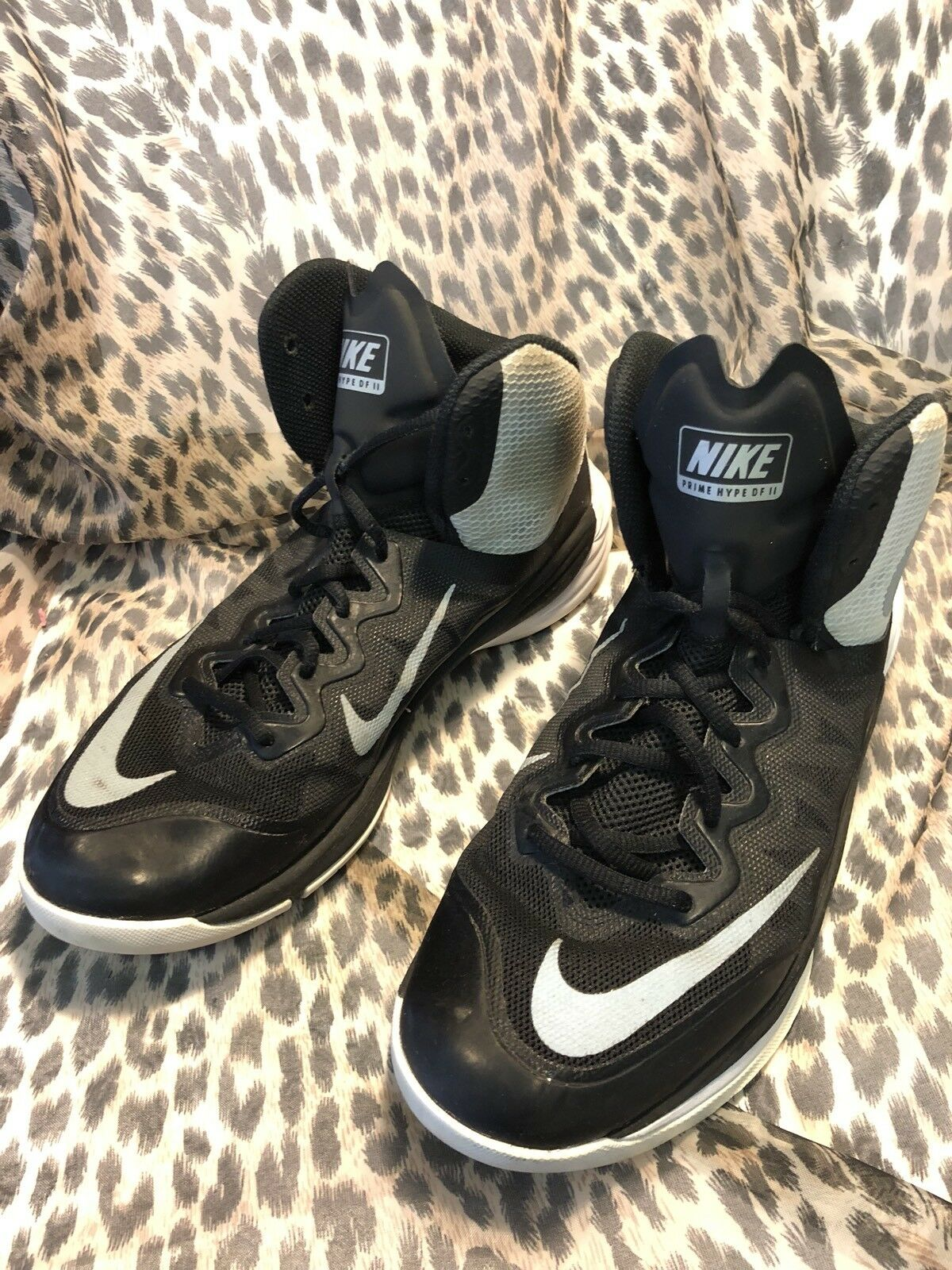 Nike Mens Prime Hype DF II Basketball Athletic Shoes 806941-001 Price reduction Wild casual shoes