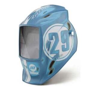Miller 269947 Helmet Shell Only Hot Rod Garage Elite