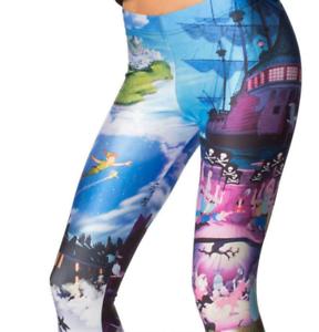 Leggings-Lady-Peter-Pan-Disneyland-Tinkerbell-Neverland-Cute-Pants-Long-Trousers