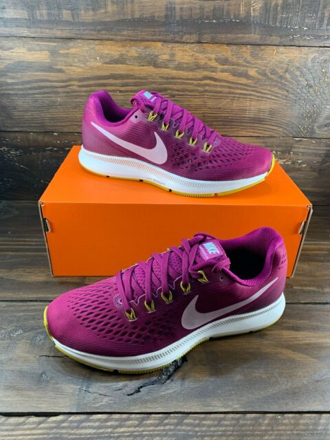 Nike Air Zoom Pegasus 34 Women's Running Gym Shoes Pink Purple 880560-607- NEW