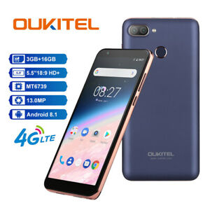OUKITEL-C11-Pro-5-5-034-Android-8-1-4G-LTE-Smartphone-3GB-16GB-Impronte-Digitali