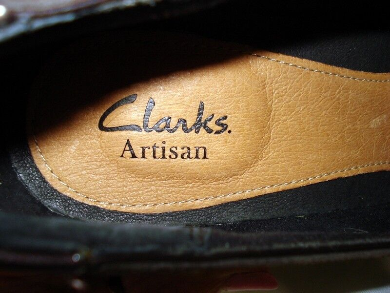 CLARKS ARTISAN 11 NARROW BRN SUEDE & PATENT PATENT PATENT LEATHER DIAMOND SADLER PUMP schuhe NEW 9282d9