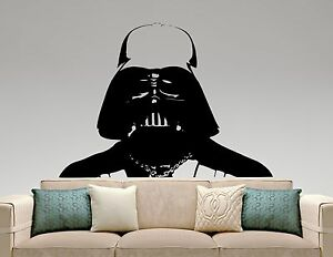 Image Is Loading Darth Vader Wall Decal Star Wars Vinyl Sticker