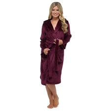 item 2 Luxury Shimmer Ladies Soft Long Hooded Fleece Bath Robe Dressing  Gown House Coat -Luxury Shimmer Ladies Soft Long Hooded Fleece Bath Robe  Dressing ... d89121901