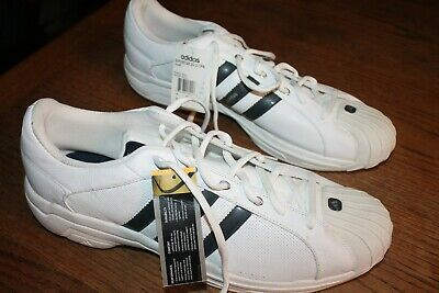 tengo hambre Fundador Extinto  adidas Superstar 2G Ultra Size 20 Men's white leather athletic shoes, rare  style | eBay