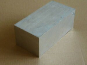 BLOCK 70mm x 70mm x  10mm ALUMINIUM BAR GRADE 6082 T6 BILLET