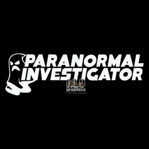 Ghost Paranormal Investigator Vinyle Autocollant Hunter fenêtre pare-chocs Voiture Camion
