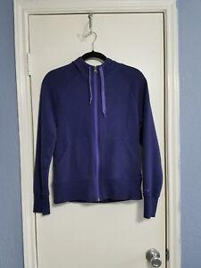 f8024afc Women's Champion Purple Full Zip Up Fleece Lined Contrast Hoodie ...