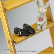 Retro square shoes_BLACK for Blythe/DAL/Pullip/Momoko/AZONE/Lati_y