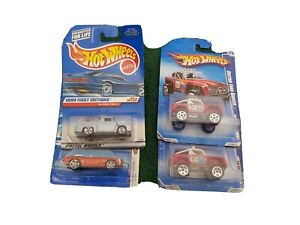Hotwheels-Ford-Bronco-69-Camero-56-Ford-Truck-Small-Lot-Mattel