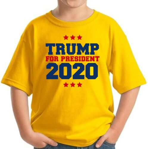 Donald Trump Youth Shirts 2020 Trump for President Shirts for Children USA Gifts