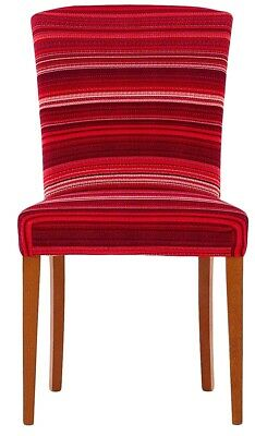 Inventivo Due Coprisedie Vestisedie Coprisedia Per 2 Sedie Harmony Stripe Bordeaux