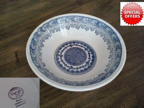 Bene Vecchio Piatto In Ceramica Porcellana Nice