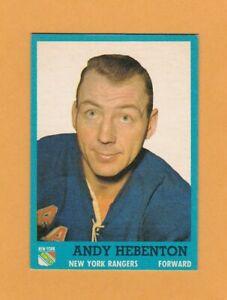 1962-63-NHL-Topps-54-Andy-Hebenton-NrMt