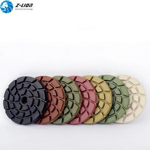 3/'/' Diamond Floor Polishing Pad Kit Wet Concrete Marble Granite Abrasive Tools