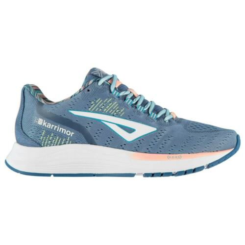 Karrimor Aura Sneakers Ladies Road Running Shoes Laces Fastened Padded Ankle