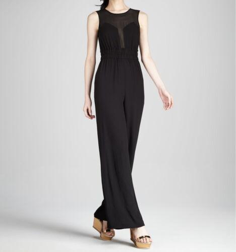 Kiara Jumpsuit New Sleeveless Maxazria Black Bcbg l76w M Size Wqr9c125 aWO6St