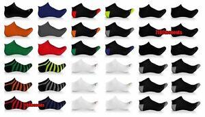 6-Pack-Elite-Collection-Men-039-s-Low-Cut-Cool-No-Show-Ankle-Socks-Black-Lot-10-13