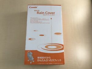 Combi Multi-Fit Rain Cover Black ZC