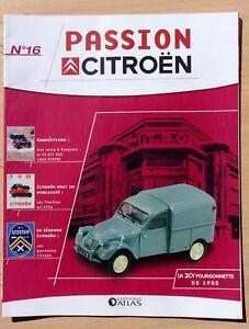 FASCICULE-ATLAS-PASSION-CITROEN-N-16-LA-2CV-fourgonnettde-de-1955